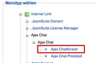 Installation Ajax Chat