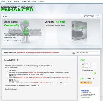 CBE Webseite