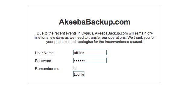 akeeba offline