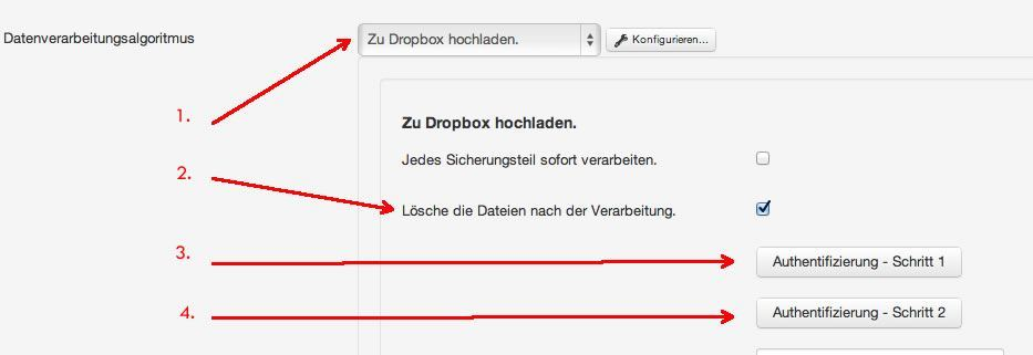 dropbox konfig