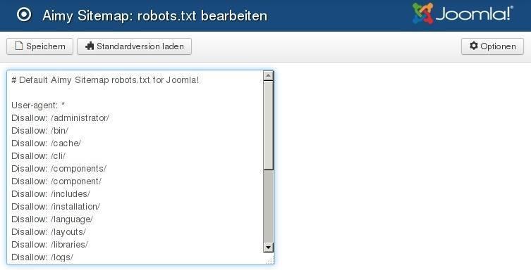 robots txt editor