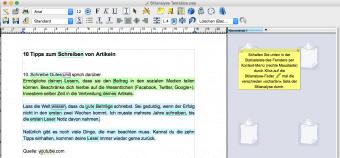 Schreibprogramm Papyrus