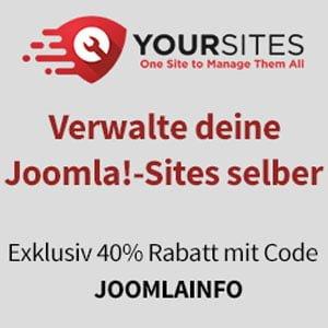 Verwalte deine Joomla!-Sites selber